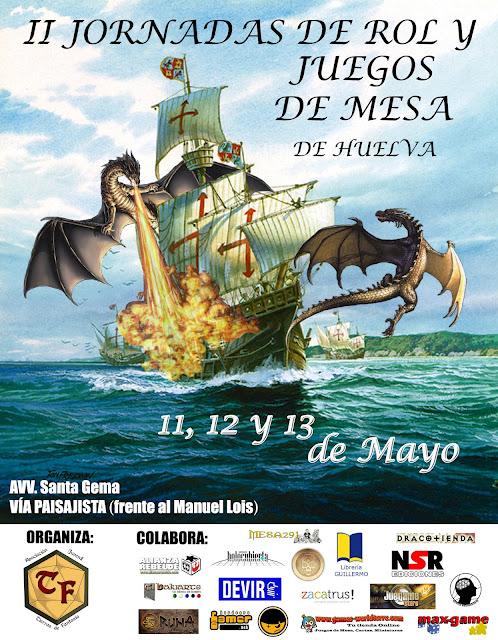 II Jornadas de Rol y Juegos de Mesa de Huelva