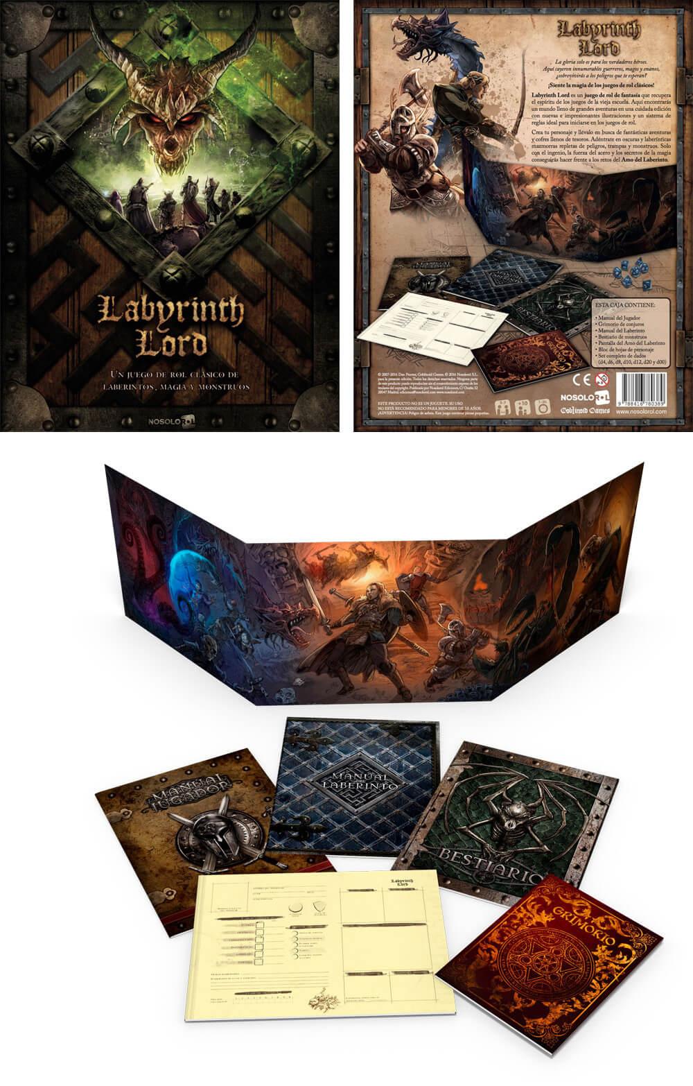 Labyrinth Lord, edición en español