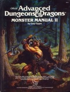 Monster Manual II para Advanced D&D