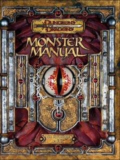 Monster Manual para Dungeons & Dragons 3.5 Edition