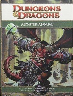 Monster Manual para Dungeons & Dragons 4th Edition